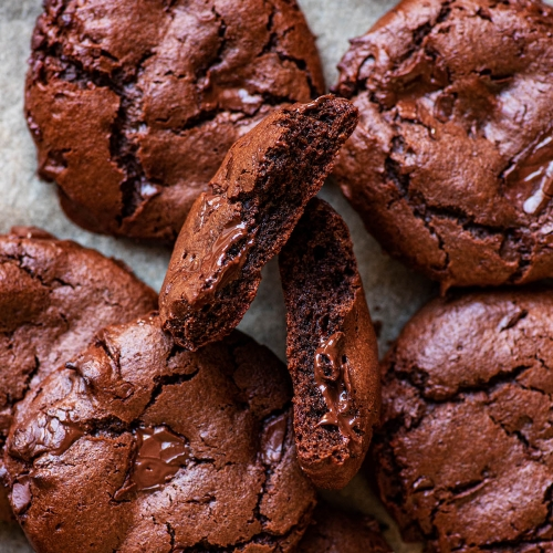 Chocolate-Chickpea-Flour-Cookies